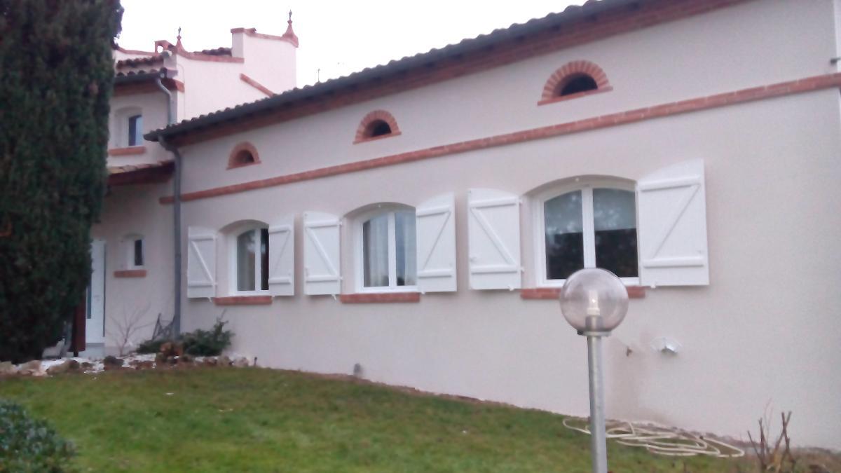 Lorenzo Project, crépis et enduits près de Montauban Tarn et Garonne (82)