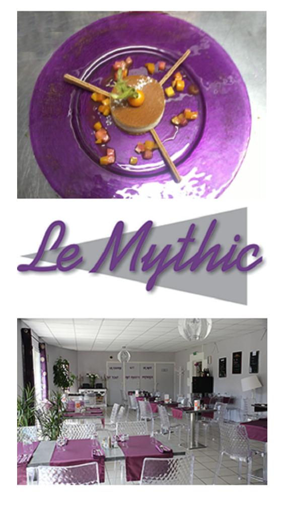 Restaurant-bar Le Mythic à Tercé près de Poitiers dans la Vienne
