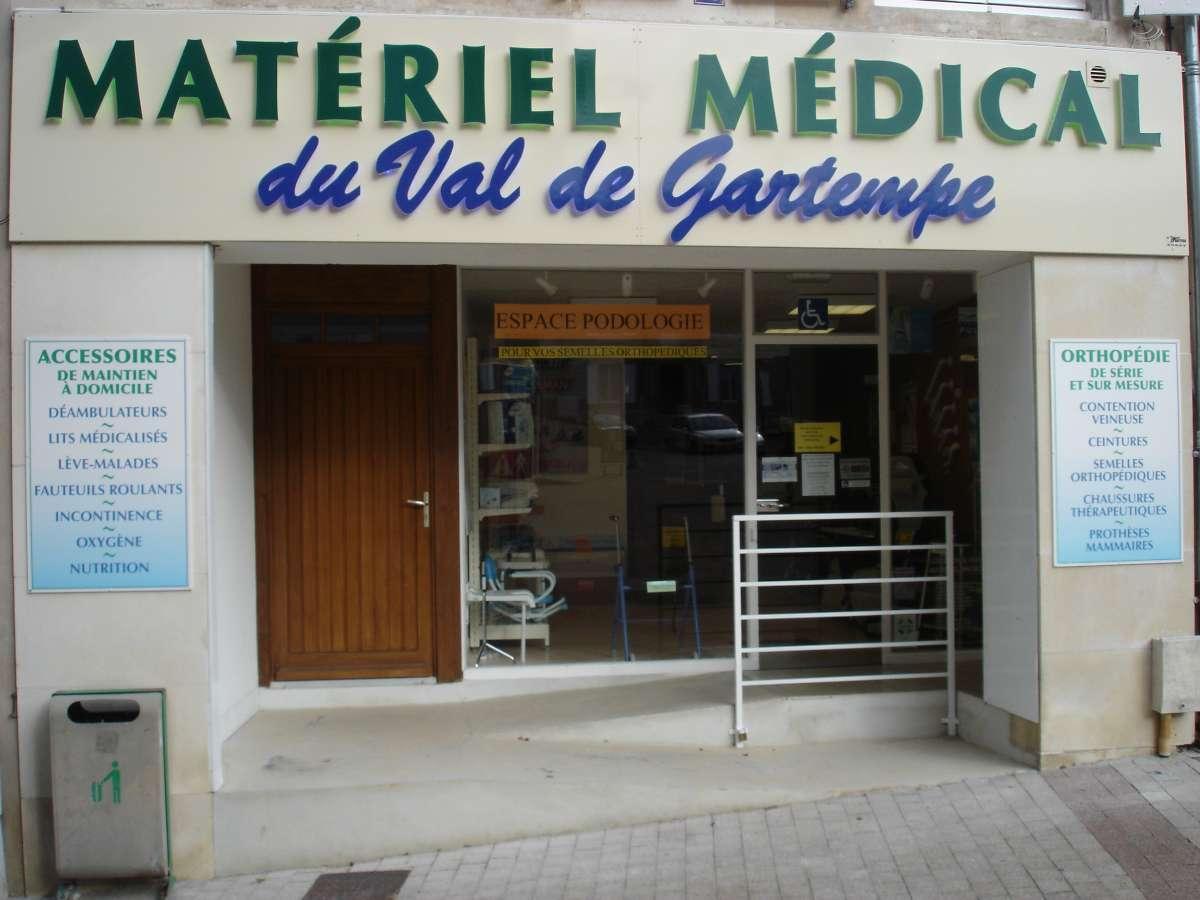Matériel médico chirurgical du Val de Gartempe Montmorillon