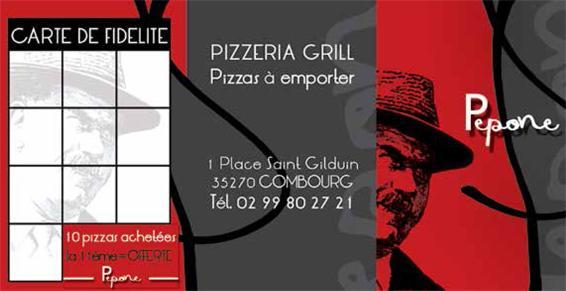 Pépone à Combourg vous propose 26 pizzas faites maison