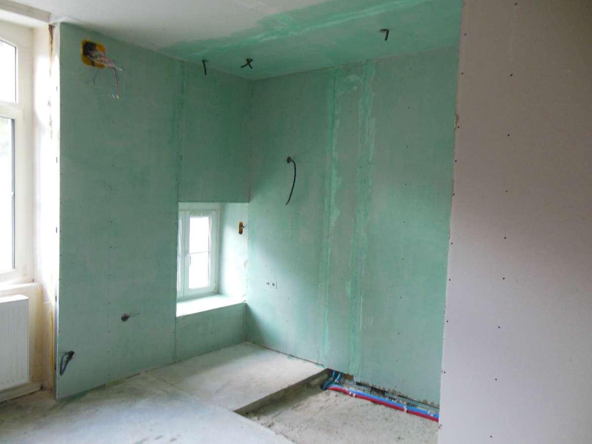 Préparation à l'installation d'une douche à l'italienne à Metz