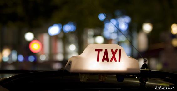 Taxis - Borne station