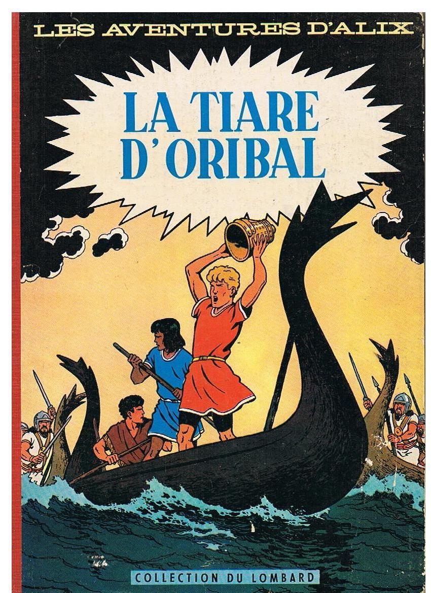Bande dessinée : La Tiare d'Oribal 350 euros