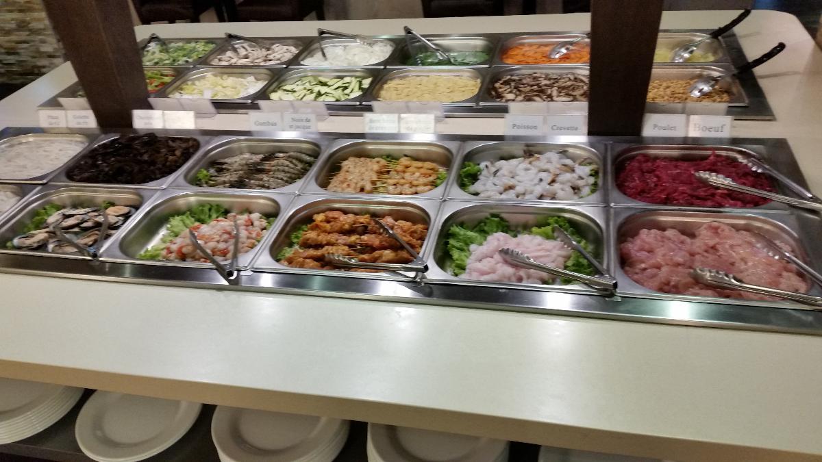 Restaurant asiatique Let's Wok à Caen