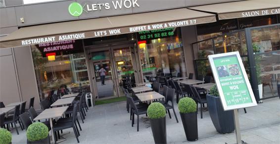 Let's Wok à Caen - Restaurant asiatique