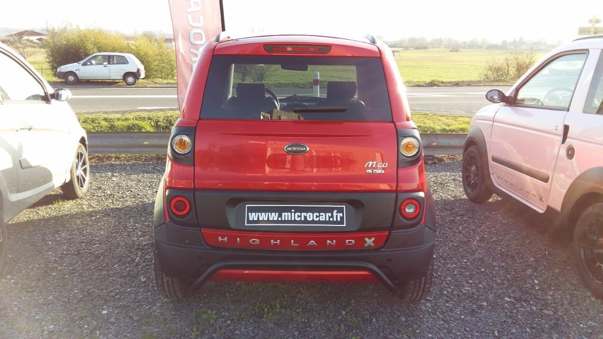 Microcar M.GO Highland X DCI 4