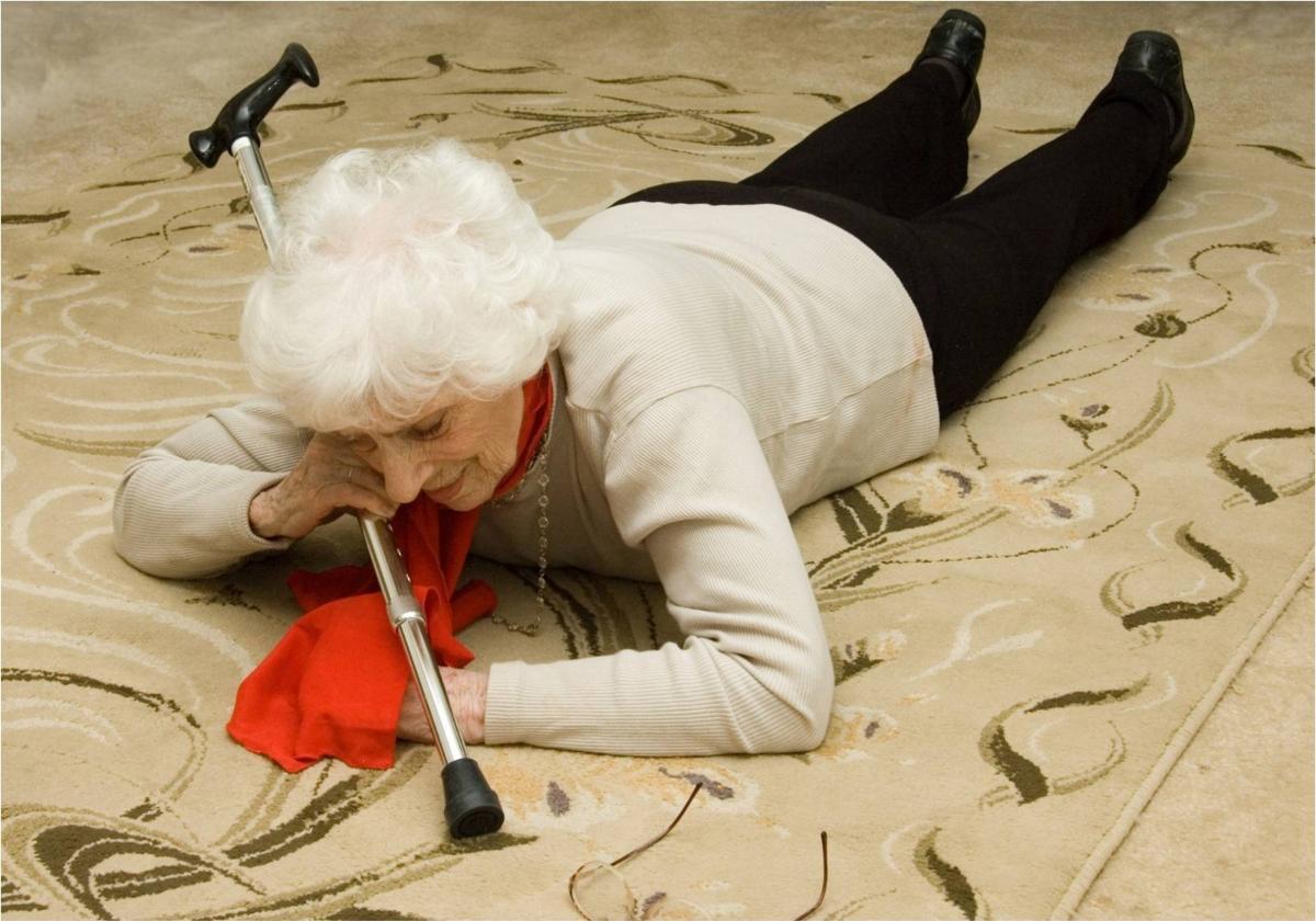 Chute de personnes âgés? Pas de panique les secours sont alertés