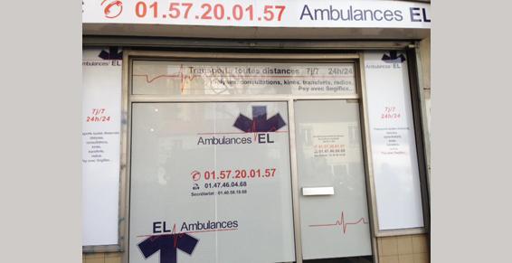 Ambulance EL à Montrouge - Ambulances