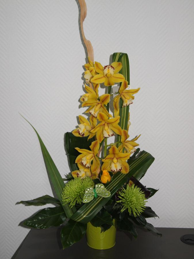 Composition orchidée : 48€