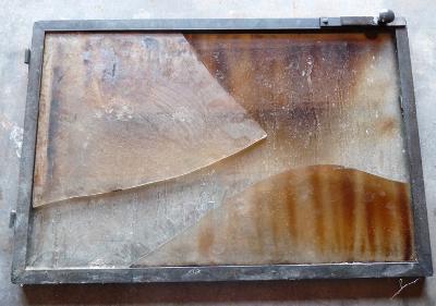 verre special poêle à bois et cheminée