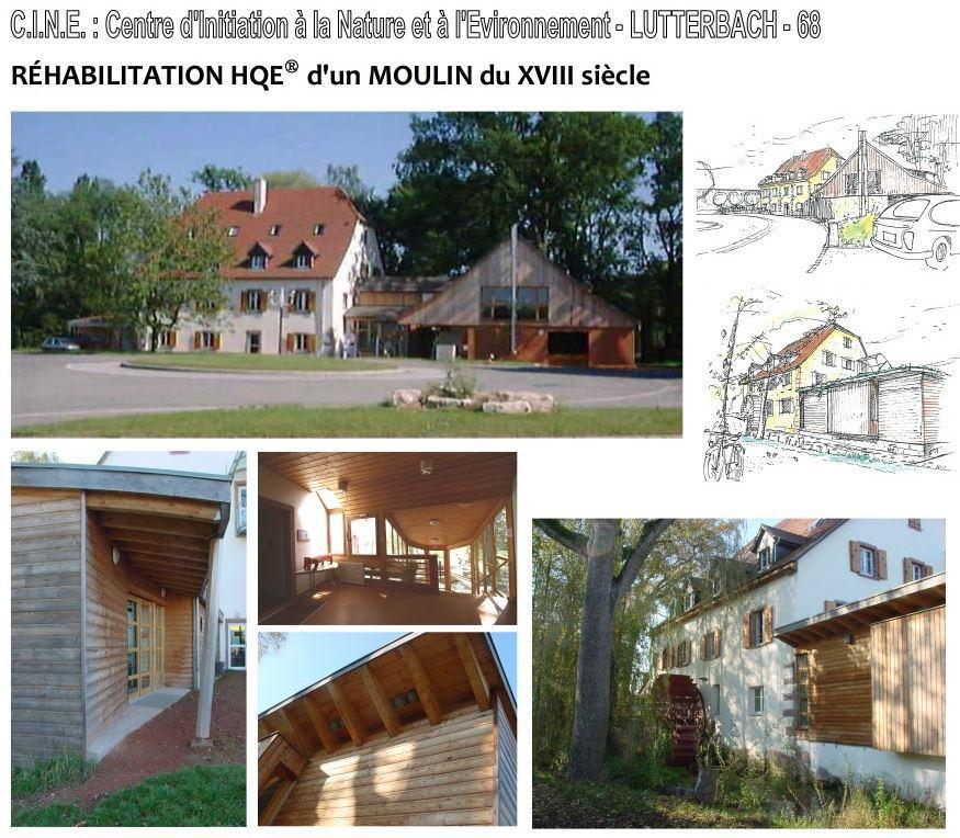 Réhabilitation moulin Lutterbach - Jean-Luc Thomas, architecte Alsace