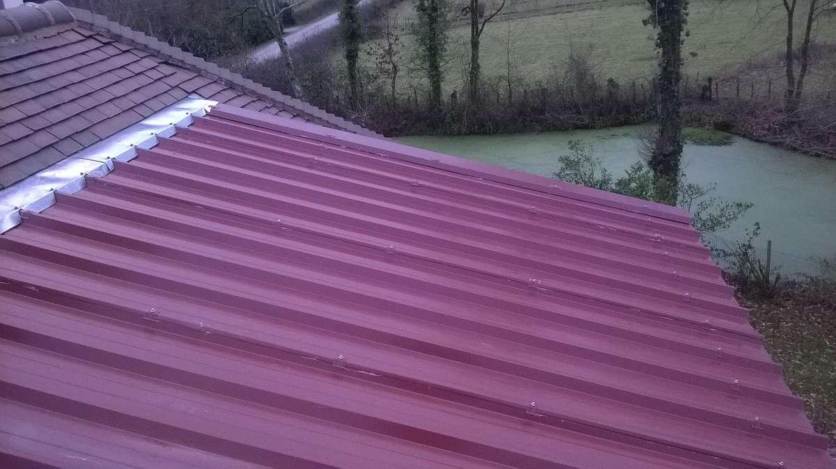 DB Couverture - toiture bac acier - Saint-Herblain