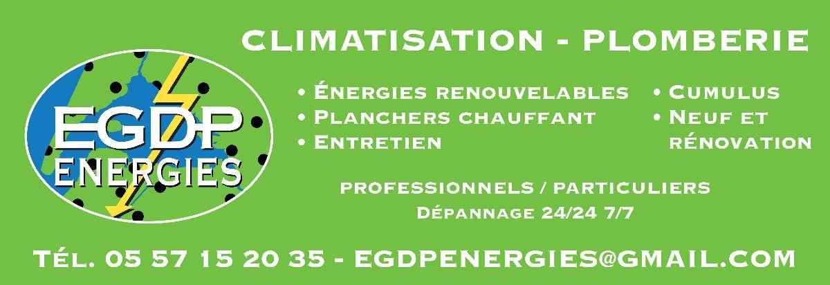 Panneau Energies, Egdp Energies à La Teste-de-Buch en Gironde (33)