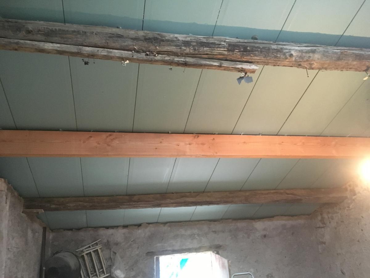 3/5 Réfection toiture par panneaux isolants