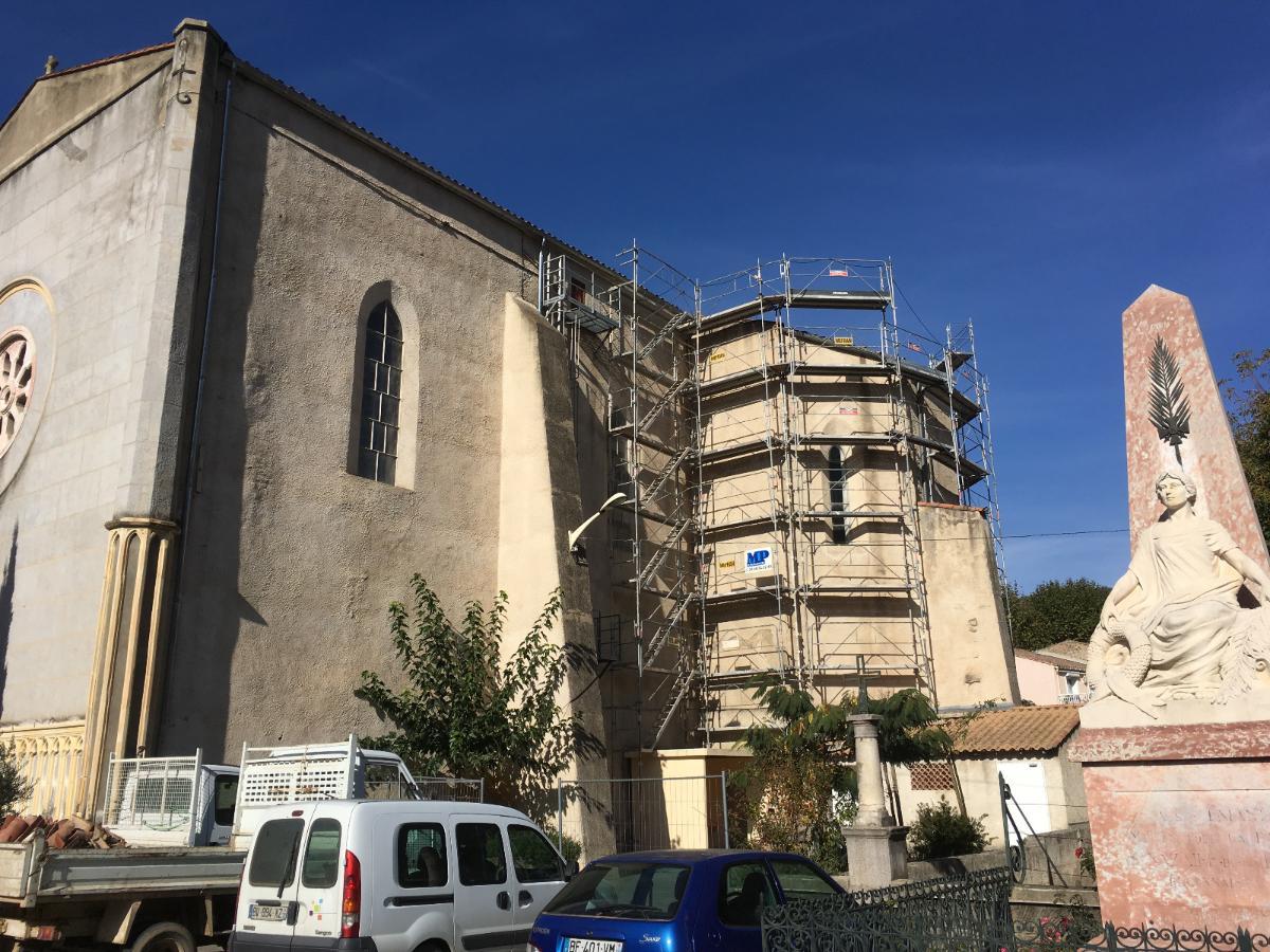 Réfection toiture Eglise