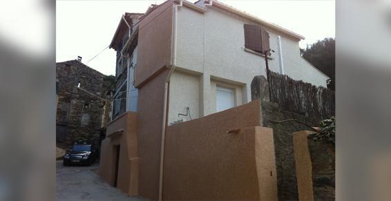 Cessenon-sur-Orb - Réhabilitation  de façades