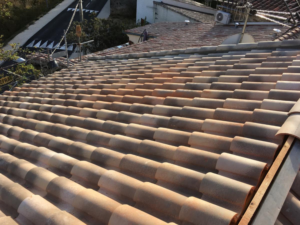 5/5 Réfection toiture par panneaux isolants