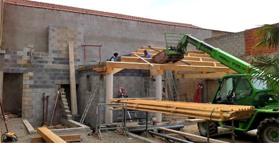 Silvestre David - Construction de toitures