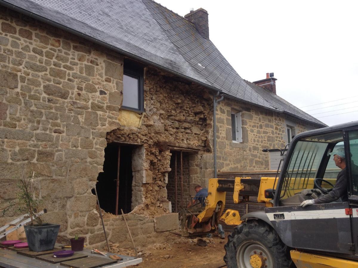 Modification d'ouverture - Rénovation de bâtiment près de  Rennes