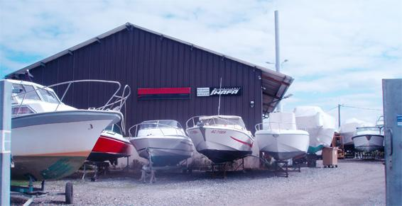 Vente de bateaux de plaisance - Atelier au Port de la Barbotière