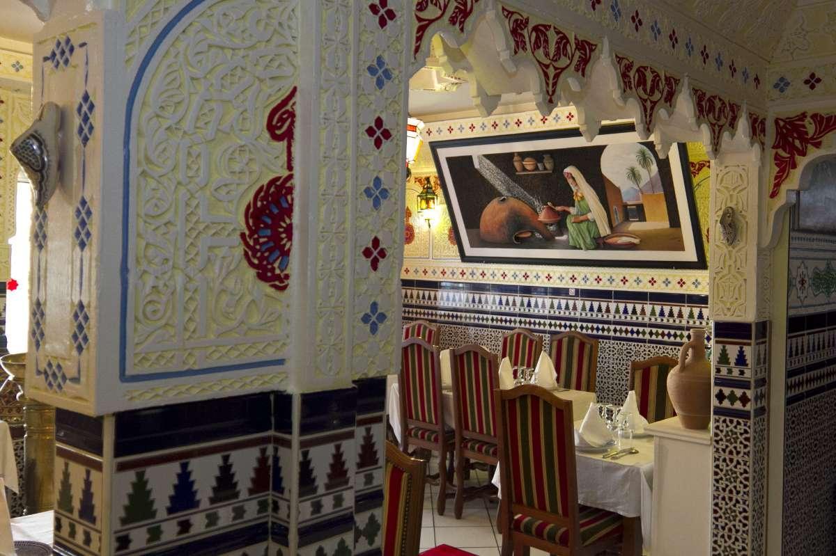 Salle de restaurant privatisable La Tour du Maroc Villebon-sur-Yvette