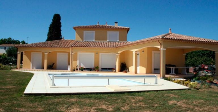 Villa Pomérols - Terrasses - Piscine - Agud et Fils
