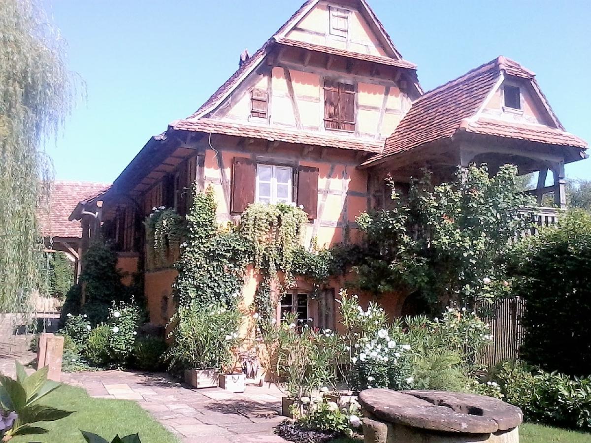 Maison démontée et remontée + ajout d'un balcon