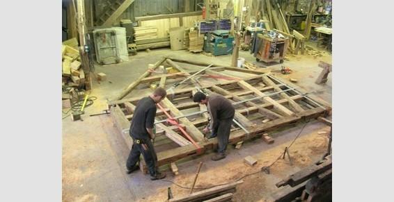 Fabrication d'un pignon en atelier