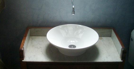 plombiers - Pose de vasque