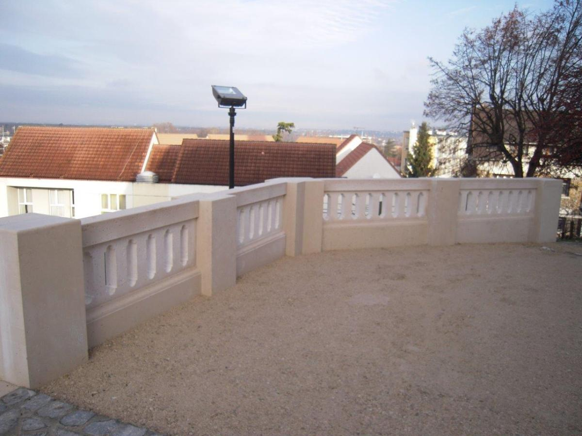 Balustrade église (Sartrouville)
