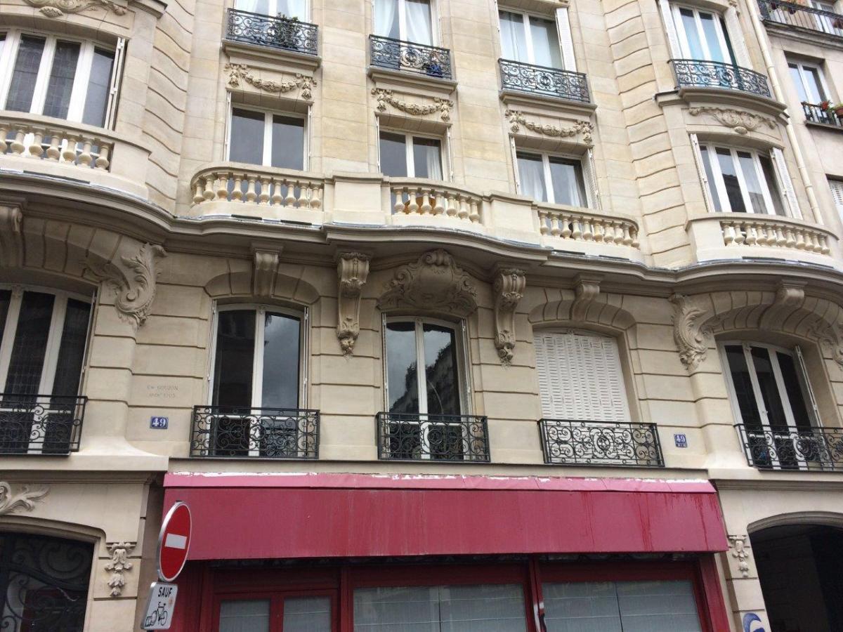 Balustrade Rue Lancry (Paris)