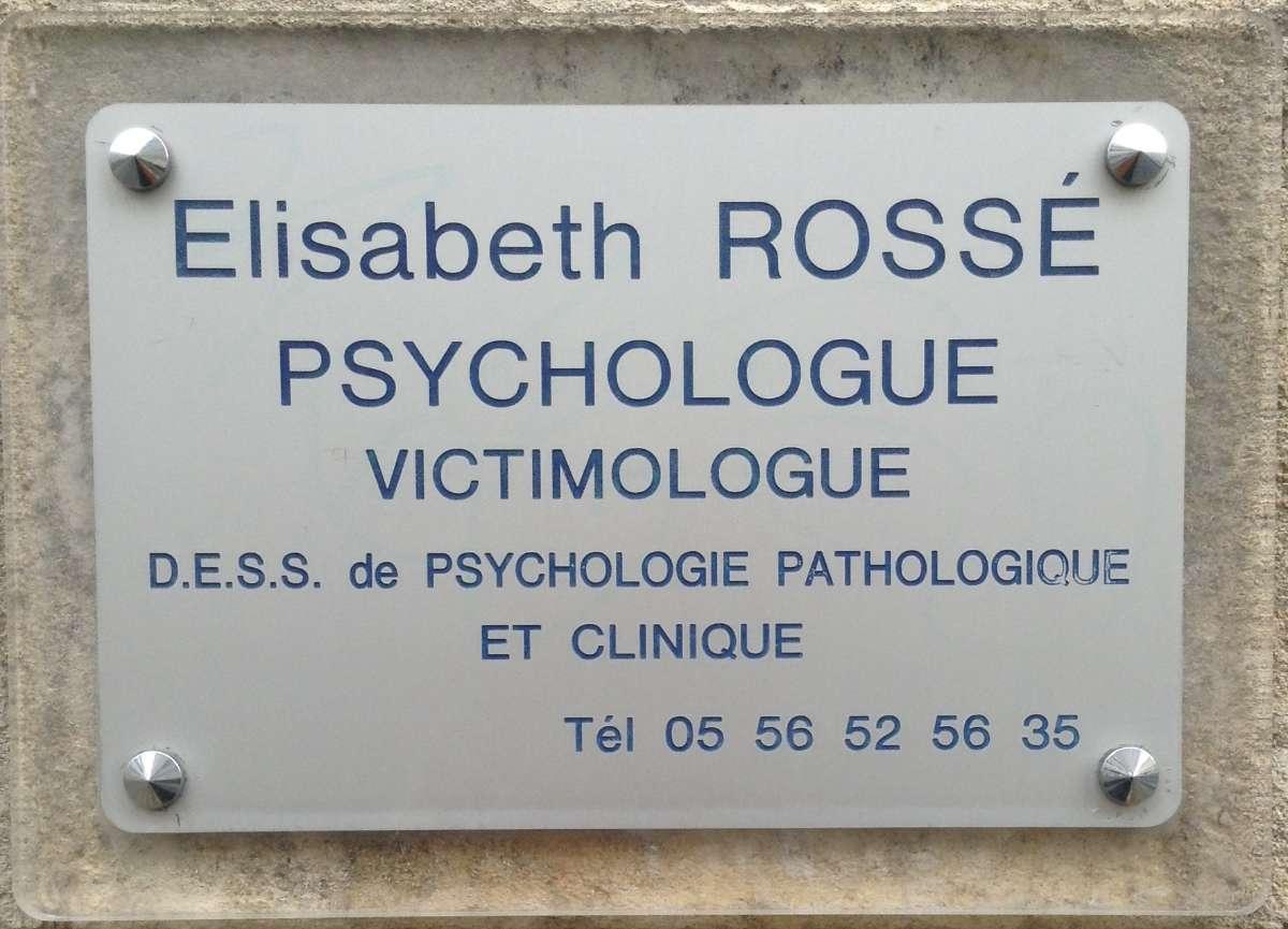 Elisabeth Rossé, victimologue et psychologue à Bordeaux