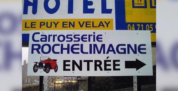 Carrosserie Rochelimagne - Peinture automobile