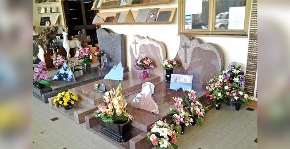 Marbrerie et monuments funéraire Haute-Savoie