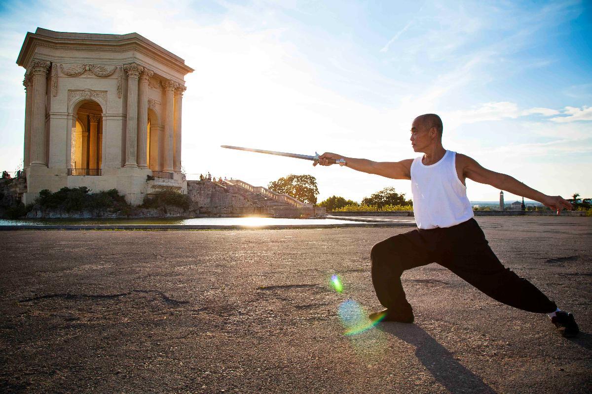 Cours d'arts martiaux - Tai-Chi Centre, Taï Chi épée