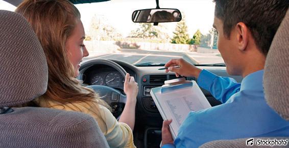 Auto-écoles - Passage examen