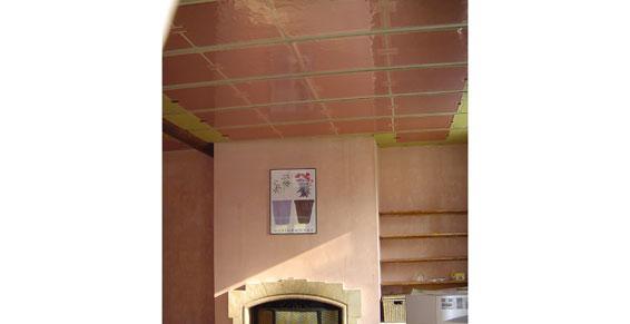 Plafond rayonnant, Ets Lesne à Meyzieu dans le Rhône