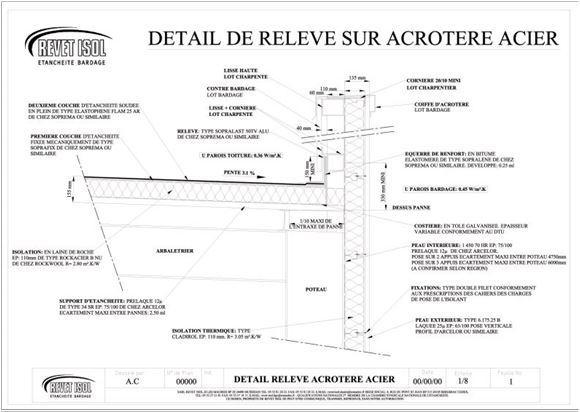 Plan étanchéité - Revet Isol Dordogne (24)