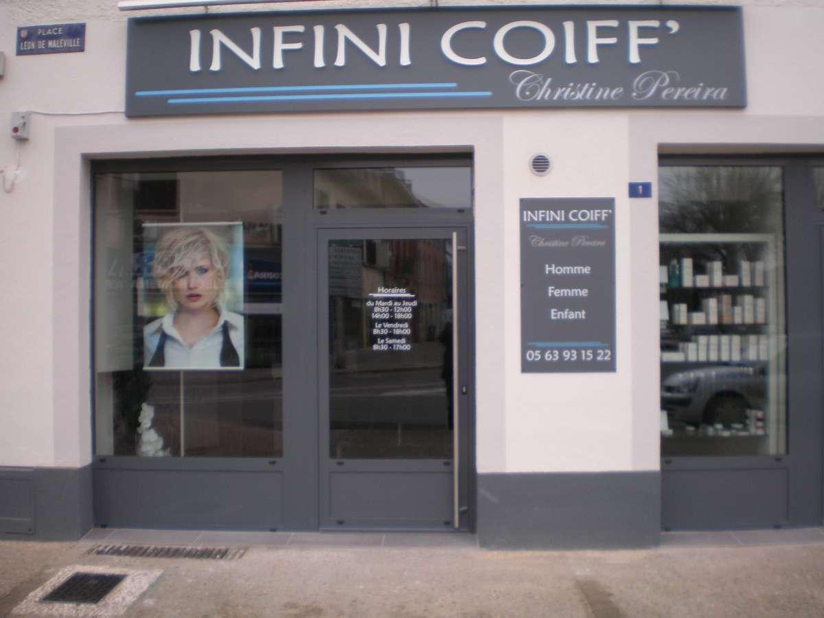 Infini Coiff' a Caussade - Coiffeurs