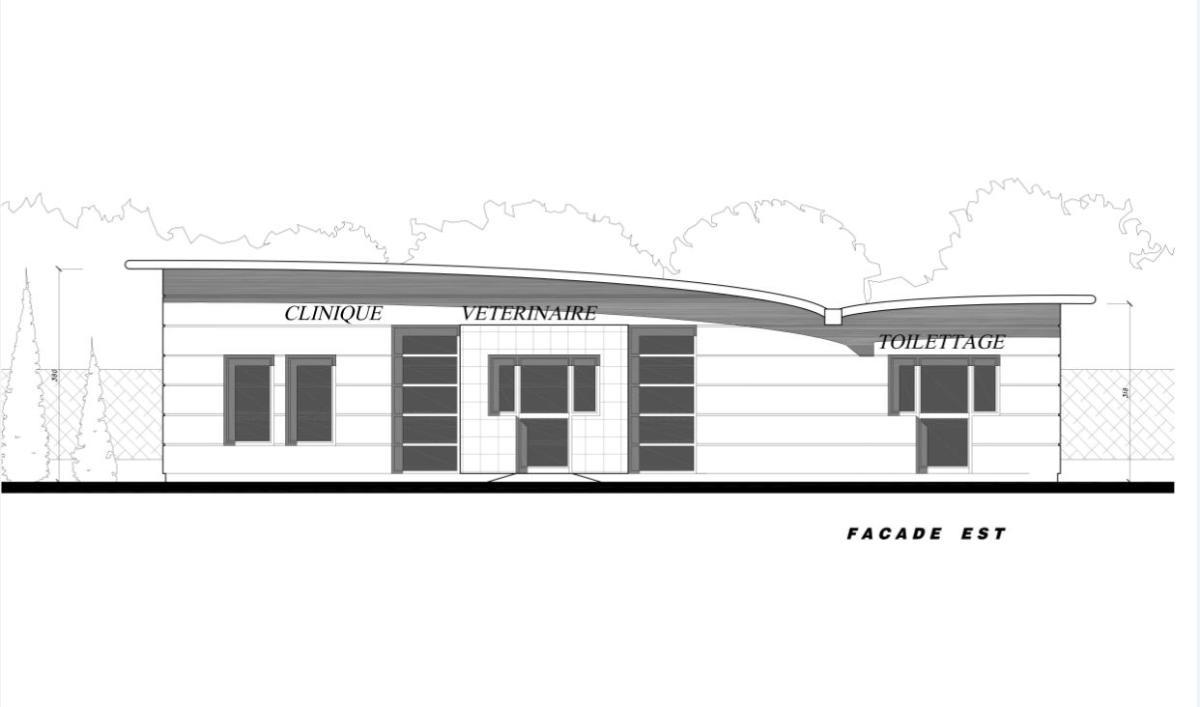 Clinique Vétérinaire KRIEF à LANCON de Provencesurface utile de 275 m²