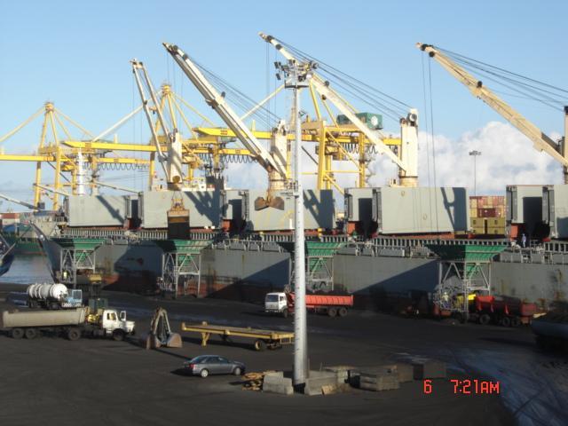 Transport maritime et fluvial au Port