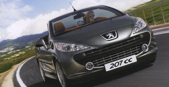 Distributeur Peugeot 207 CC