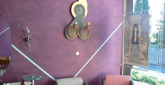 Élégance Coiffure - Coiffeurs - Castelnau le Lez - décoration du salon