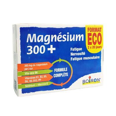 Boiron Magnésium 300+ Format Eco x40