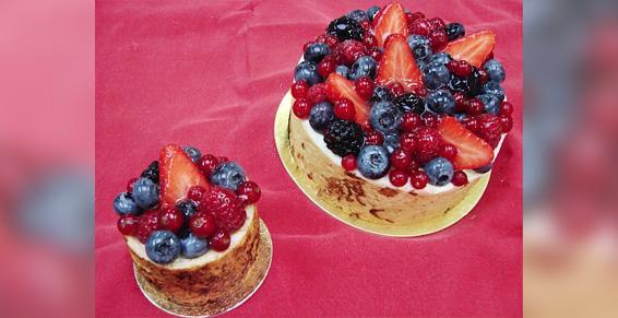 Pâtisserie fruits frais