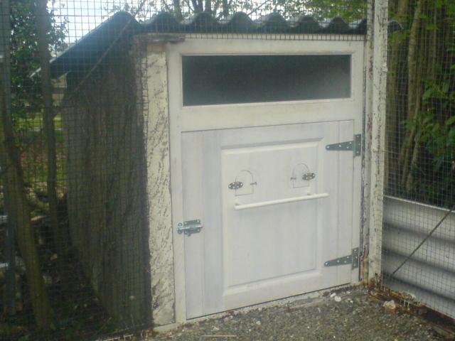 Fabrication cabane à poules à Pau
