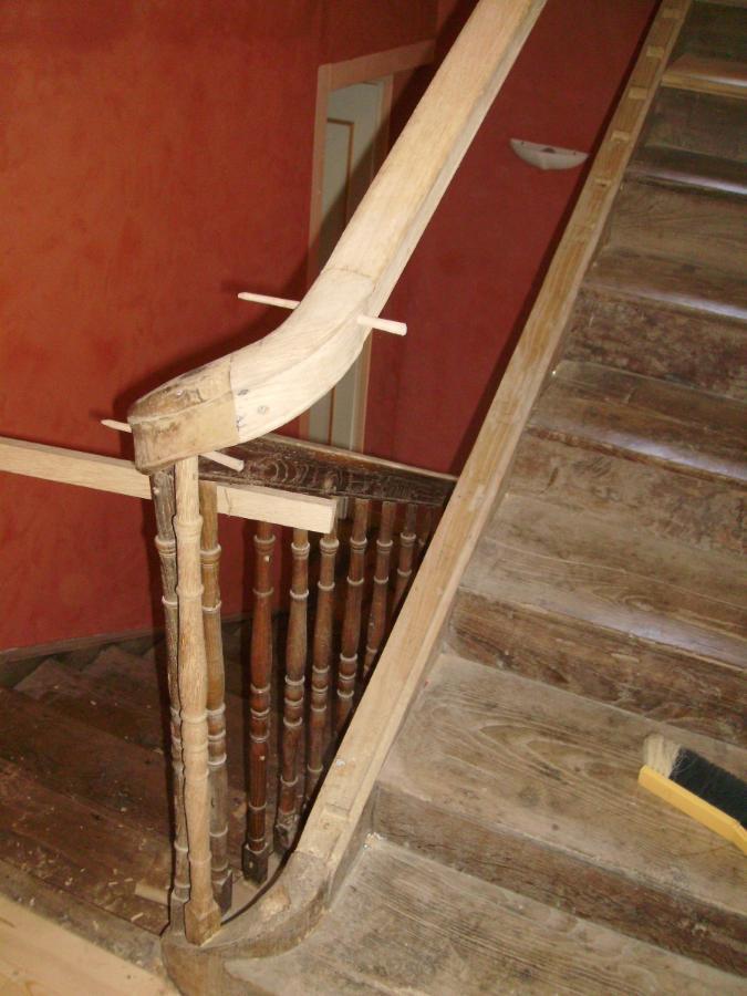 Entreprise de menuiserie générale Alexandre Éric près de Pau, rénovation d'escalier