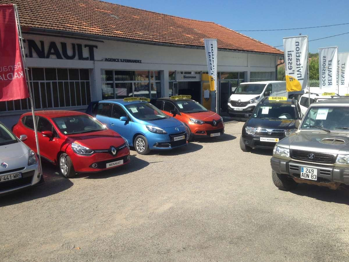 Ventes de véhicules neuf et d'occasion avec le Garage Fernandez