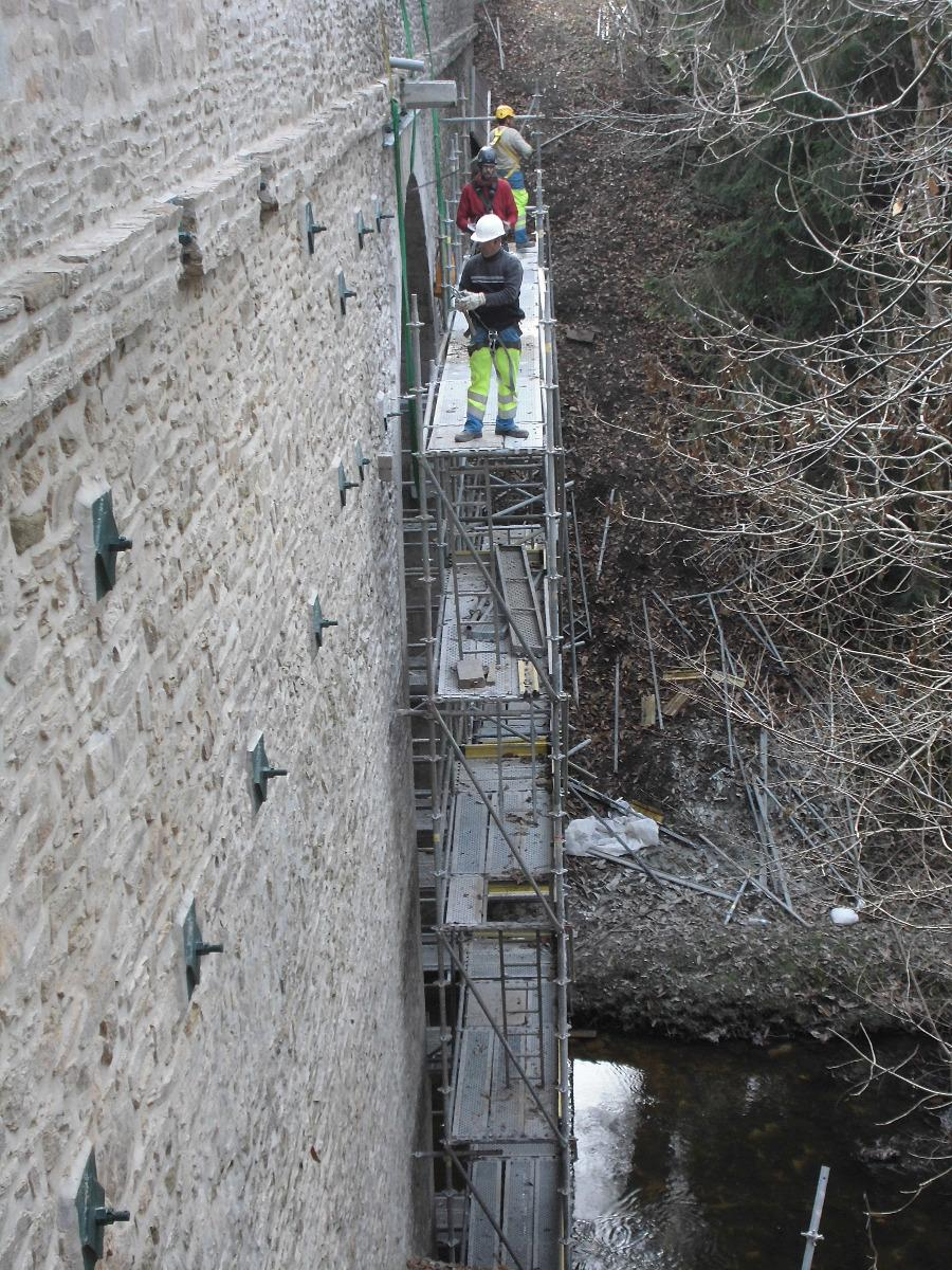 Rénovation Pont de la Besse en Haute-Vienne 87