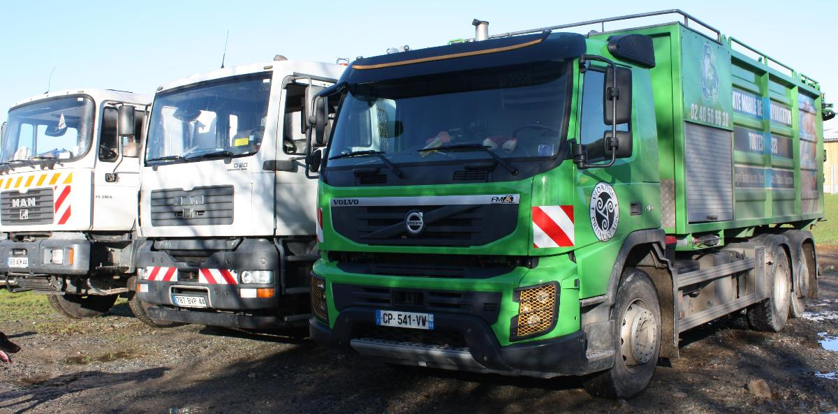 Camions d'intervention
